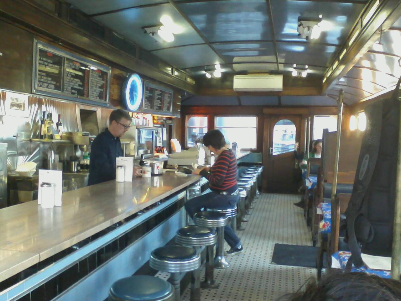 A1 Diner In Gardiner Maine Dinner With Friends In A Great Small